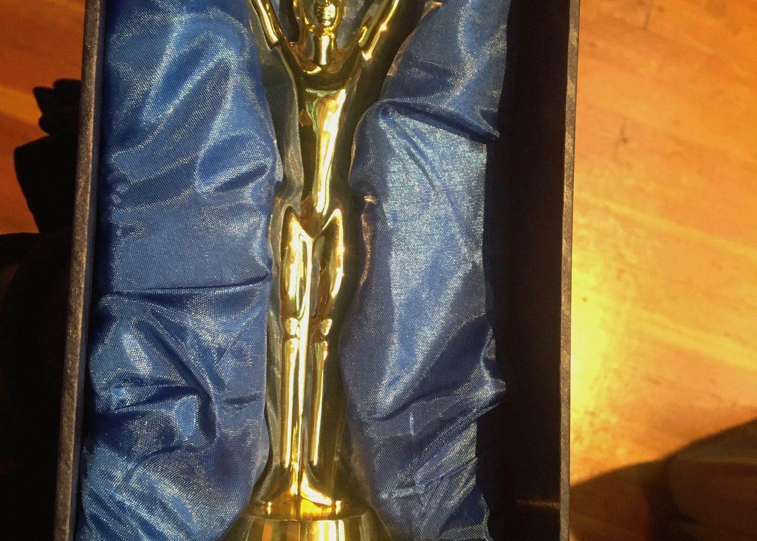 YAA award for Jonah